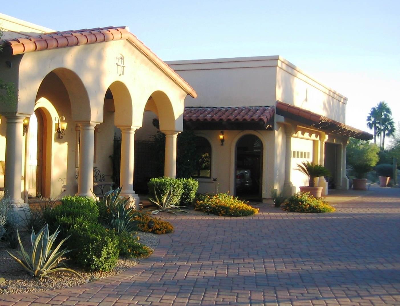 North Scottsdale--Entry Landscape