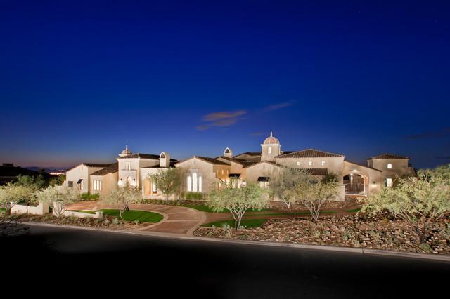 North Scottsdale Estate 2 mediterranean-exterior