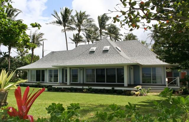 North Shore Beach House Tropical Exterior Hawaii