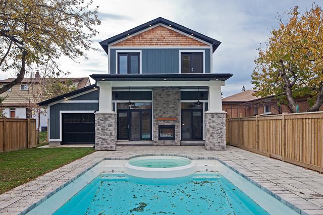 North Toronto Renovation contemporary-exterior