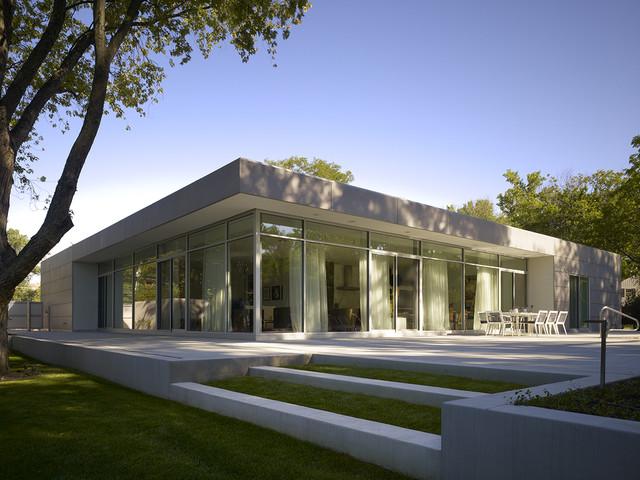 Northbrook House, exterior modern-exterior