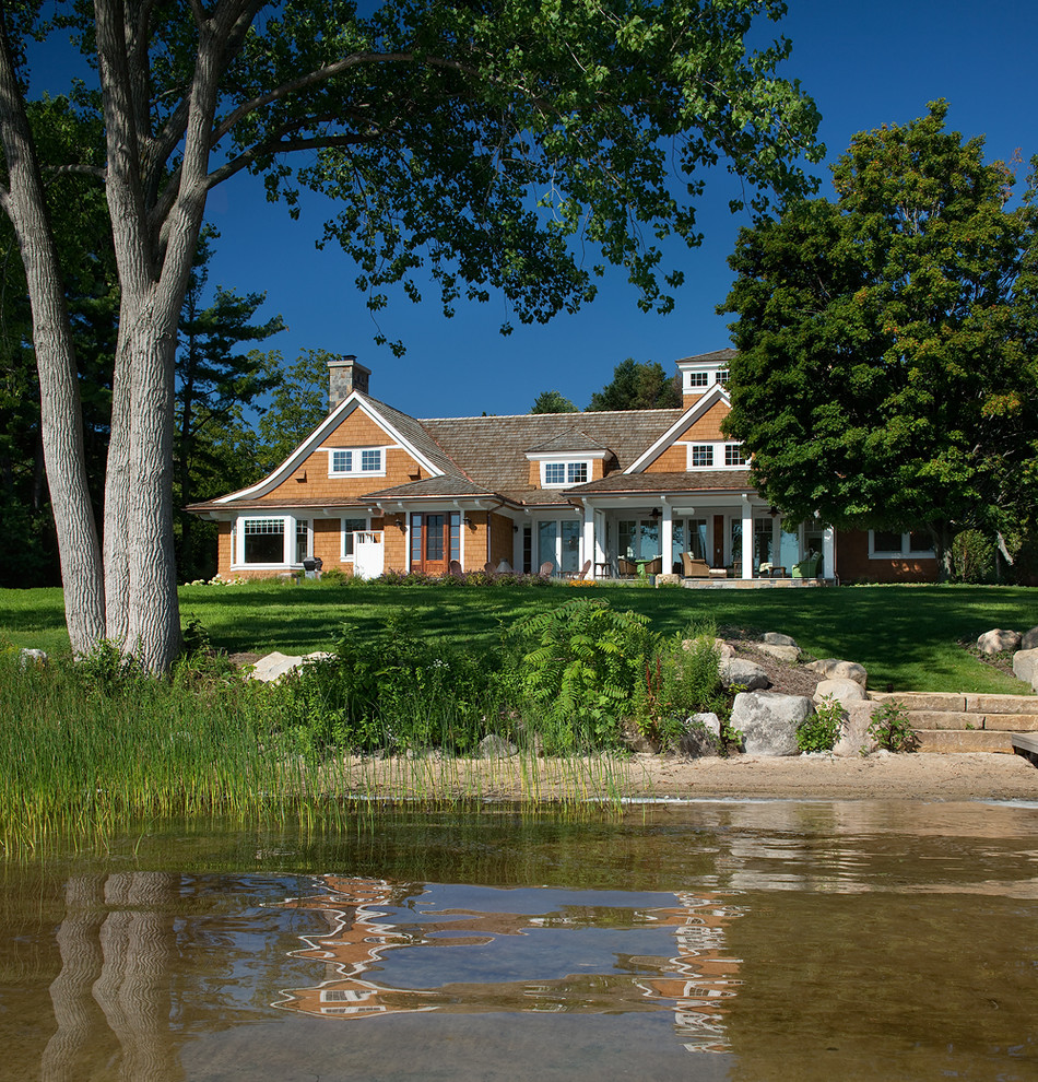 Northern Michigan Cottages - Traditional - Exterior ...
