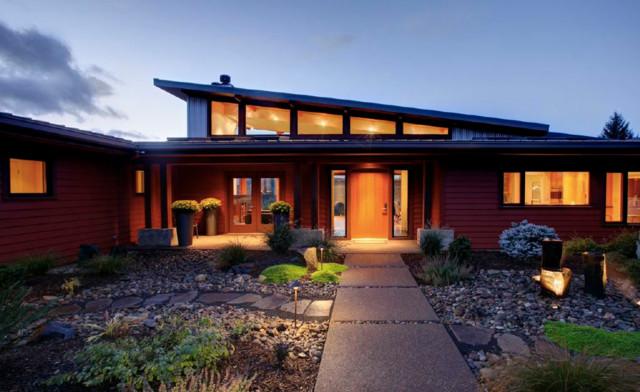Northwest modern rural residence modern exterior for Northwest architects