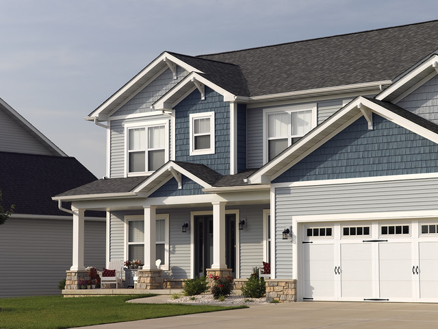 Northwoodsu00ae Vinyl Siding - Traditional - Exterior - Philadelphia - by CertainTeed Living Spacesu00ae