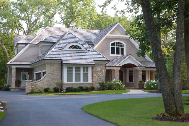 Northwoods Traditional Exterior Chicago By Red