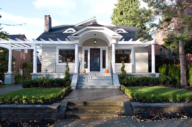Norwood Residence traditional-exterior