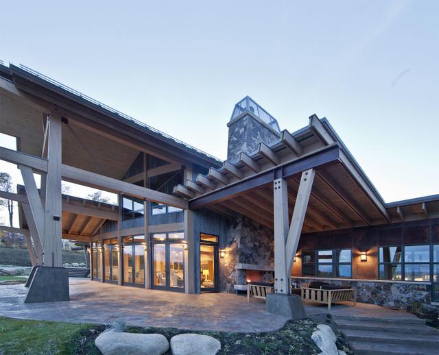 Nourth Routt Retreat contemporary-exterior
