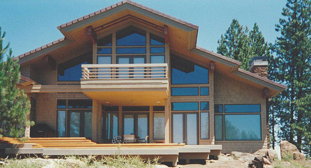 nw style house asian exterior