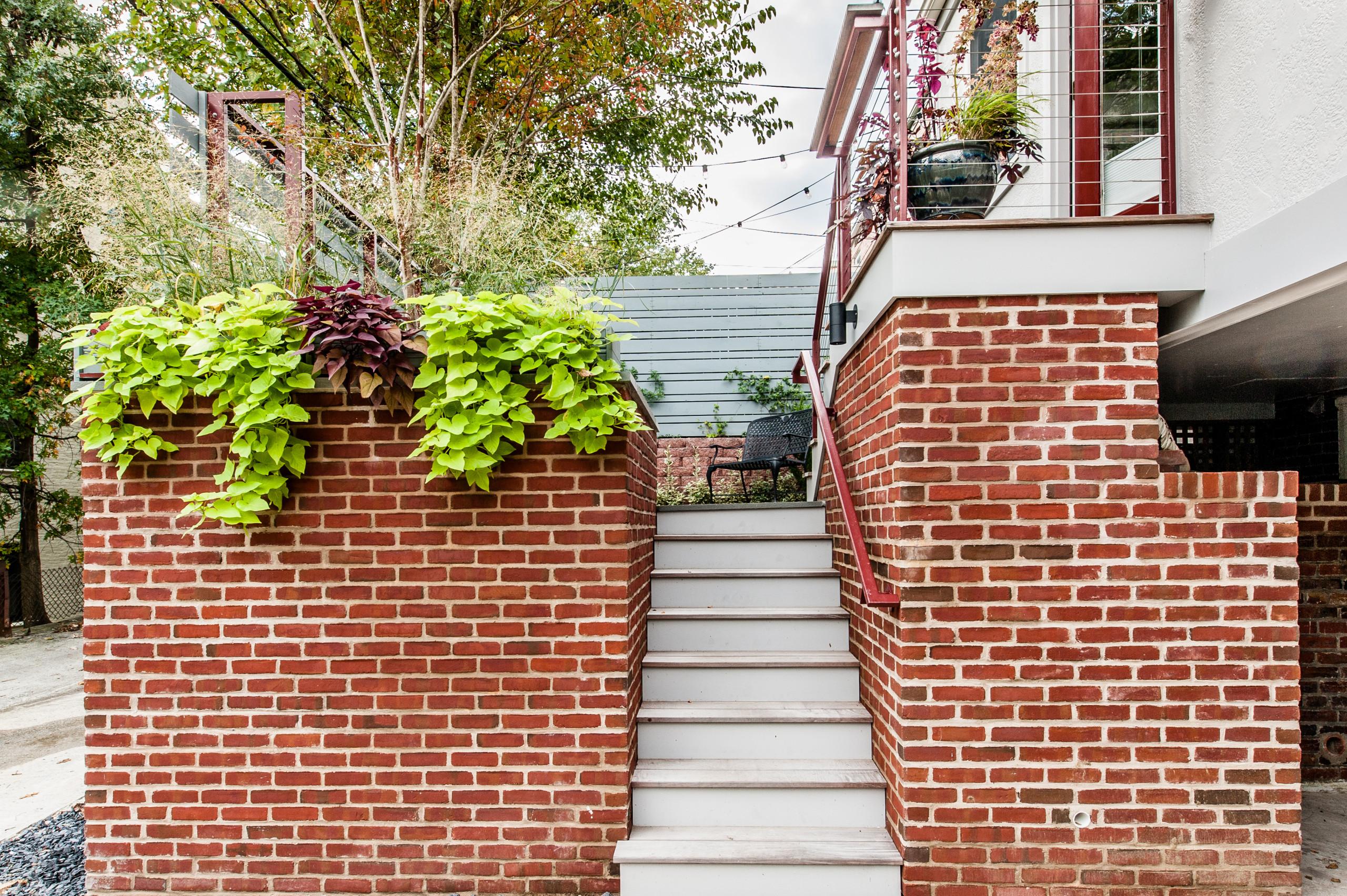 NW Washington, DC Contemporary Brick Patio