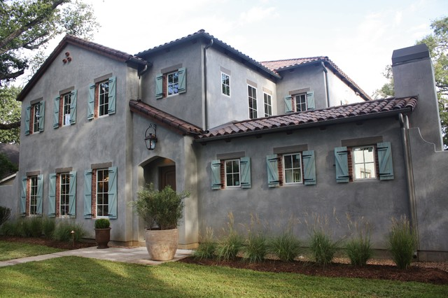 Oak Estates Modern French Provincial Rustic Exterior