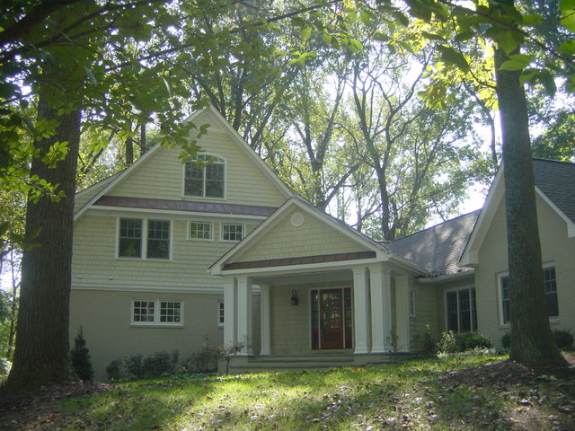 Oak Forest Lane Project traditional-exterior