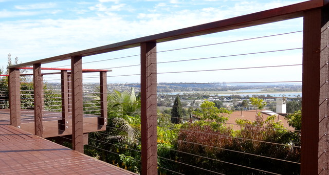 Ocean View Cable Railing Contemporary Exterior Other Metro By San Diego Cable Railings