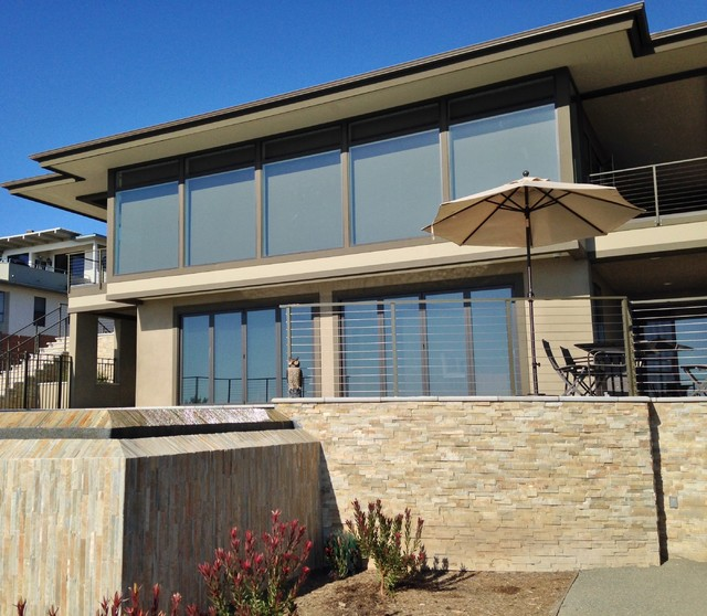 Home Exterior Systems: Ocean View Home
