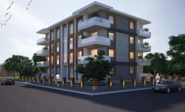 H K Residential Building Facade Design