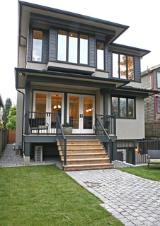 Oh Custom 4 Contemporary Exterior Vancouver By Odenza Homes Ltd