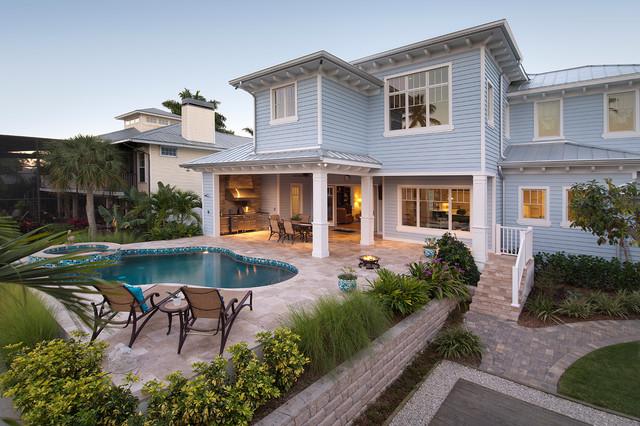 Old Florida Home Tropical Exterior Miami By Weber