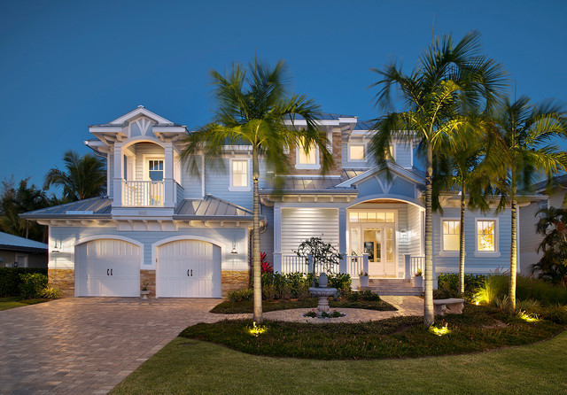 Old florida home tropical exterior miami by weber for Weber home designs