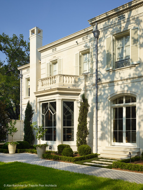 old metairie residence traditional exterior new On metairie architects