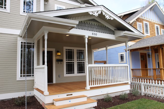 Old Town Bungalow traditional-exterior