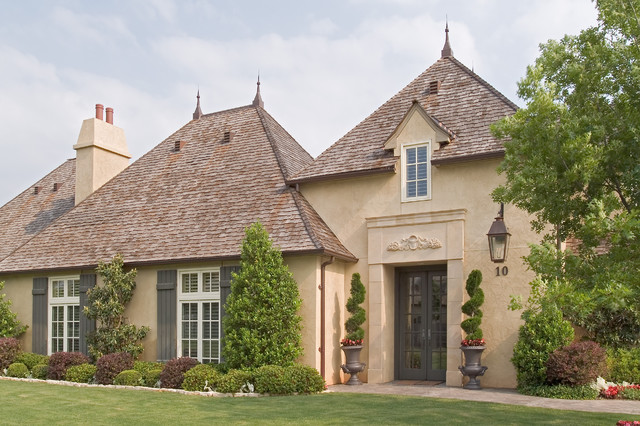 Old world romantics traditional exterior other metro for Traditional country homes