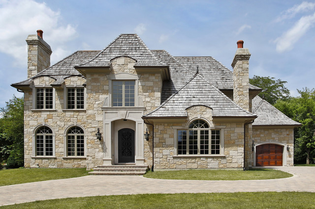 Old world - Stone house plans rigor and elegance ...