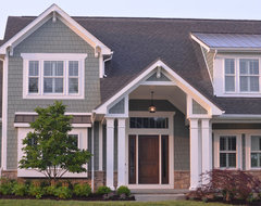 Olentangy Falls ~ Delaware, OH contemporary-exterior