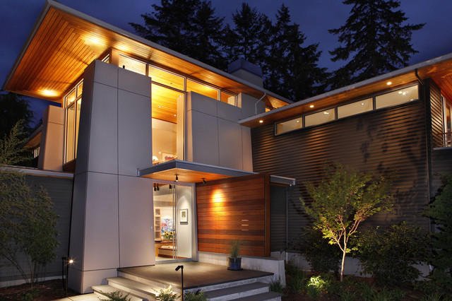 olympic view house contemporary exterior seattle