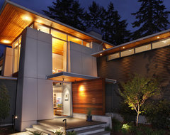 Olympic View House contemporary-exterior