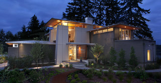 Olympic View House - Contemporary - Exterior - Seattle
