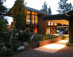 Orcas Island Home contemporary exterior