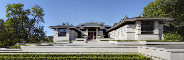 Orchard Lake contemporary-exterior