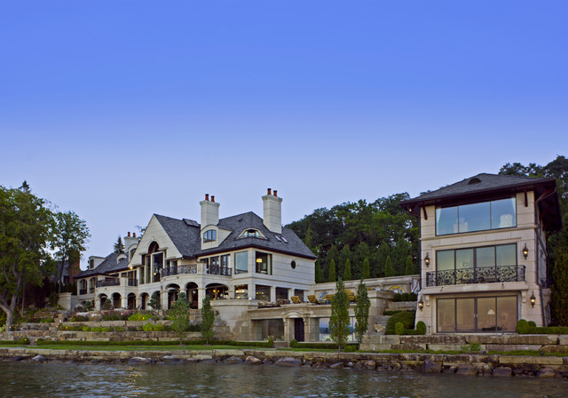Orchard lake Residence traditional-exterior