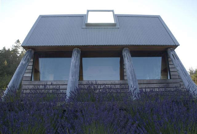 Oregon Coast Garden House contemporary-exterior