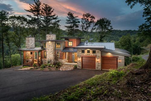 ไอเดียบ้านชั้นครึ่ง 02 organic modern mountain