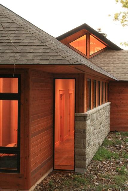 Origami Cottage asian-exterior