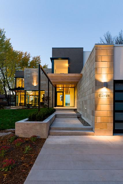 Ottawa River Home - Contemporary - Exterior - Ottawa - by ...