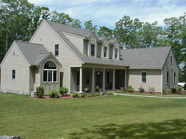 our homes completed traditional-exterior