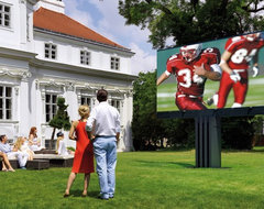 Outdoor audio video contemporary exterior