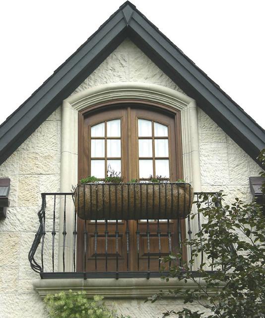 Outdoor Balcony Railing Traditional Exterior