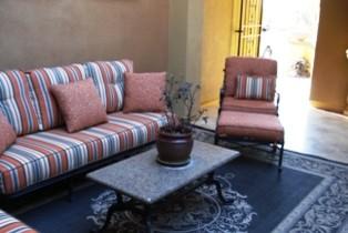 Outdoor Courtyard Transformation mediterranean-exterior