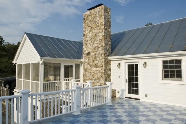 Outdoor Entertaining & Exterior Farmhouse Remodel farmhouse-exterior