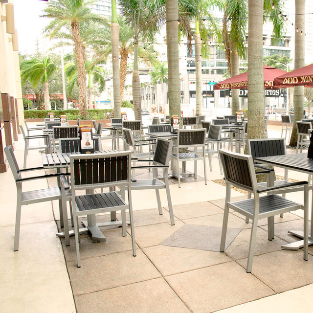 outdoor furniture for commercial contract hospitality