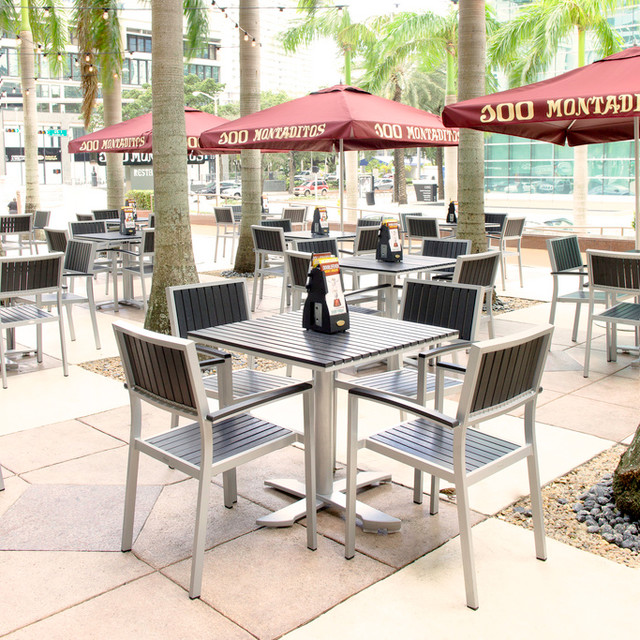 Outdoor Furniture For Commercial ContractHospitality Spaces - Commercial outdoor table and chairs