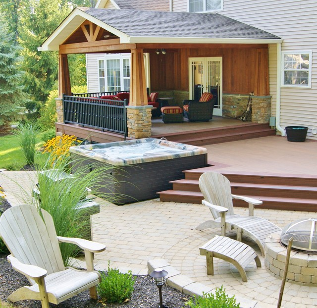 Outdoor Great Room with Awesome Covered Structure in ... on Sparta Outdoor Living id=29149