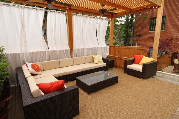 Patio decorating ideas diy - Outdoor Kitchen And Deck Contemporary Exterior Chicago By