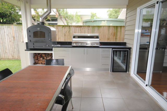 Outdoor Kitchen - Redcliffe - Modern - Exterior - Brisbane - By Smith U0026 Sons Renovations ...