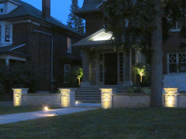 Outdoor Lighting-Toronto traditional-exterior