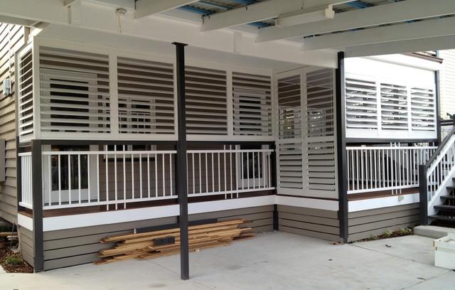 Outdoor Living   Enclosed Deck, Patio Or Porch Traditional Exterior