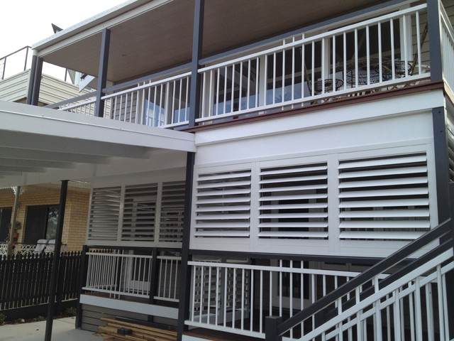 Outdoor Living Enclosed Deck Patio Or Porch Traditional Exterior Dal