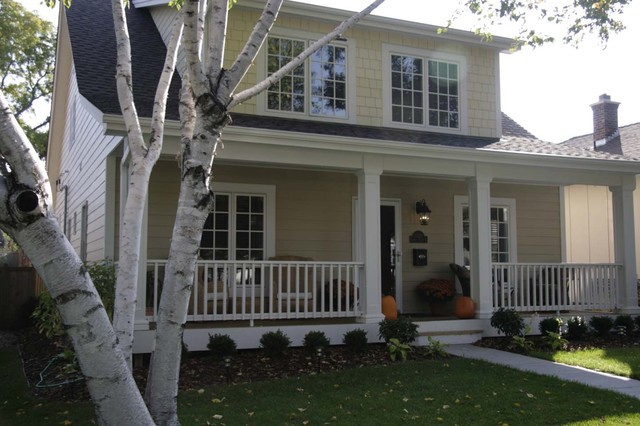 traditional exterior by JP&CO. Samantha Grose, Designer